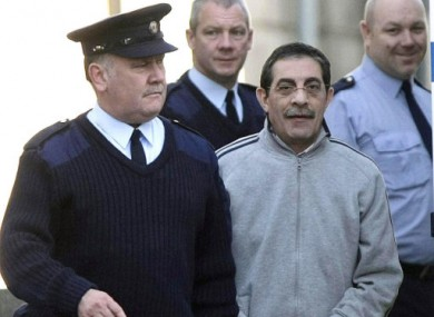 Eid in Dublin before his extradition to the US earlier this year.