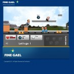 The Enda Kenny computer game on Fine Gael's election site.