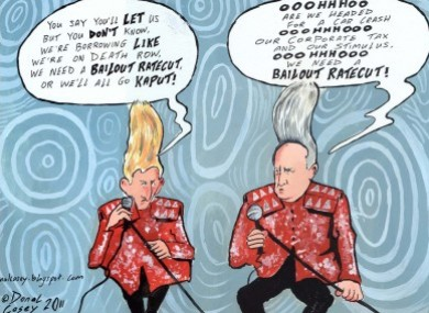 One of Donal Casey's cartoons