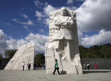 Memorial To Martin Luther King Unveiled In Washington Dc Thejournal Ie
