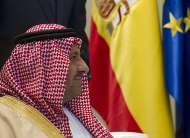 Saudi Arabia's Crown Prince Sultan bin Abdul Aziz Al Saud in Spain in 2010.