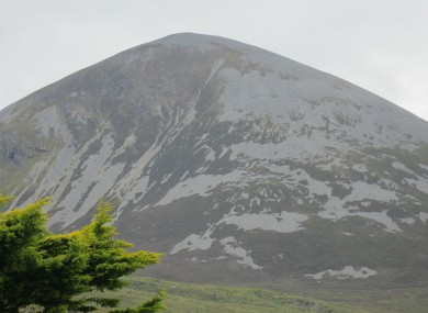 Croagh Patrick in Mayo