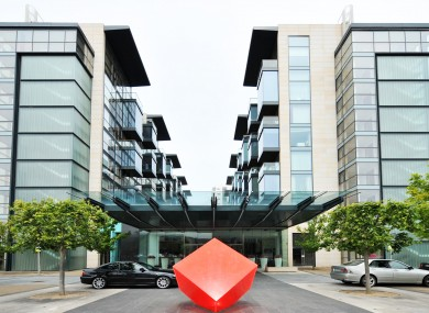 A two-bed apartment in this development has a reserve price of €130,000