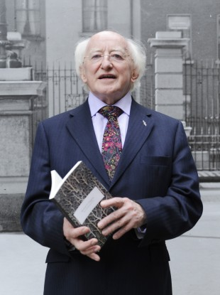 Michael D at the launch of his latest poetry collection in July.