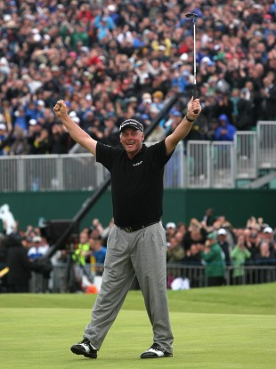 Clarke won the Open Championship earlier this year.
