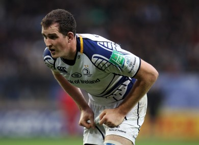 Devin Toner will start for Leinster.