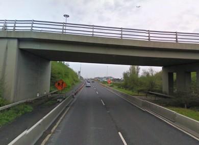 A bridge on the M1
