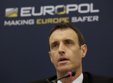 Europol director Rob Wainwright earlier this year