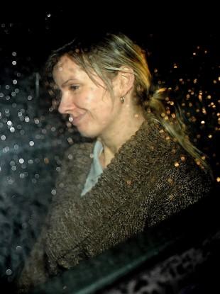 Victim Michelina Lewandowska leaving Leeds Crown Court (File photo)