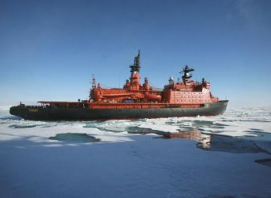 File photo of a Russian nuclear-powered icebreaker.