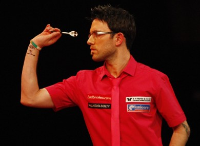 Nicholson joins Phil Taylor and Raymond van Barneveld in making an early exit.