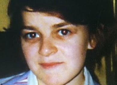 Undated garda image of Sandra Collins.