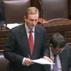 Taoiseach Enda Kenny's strong criticism of the Vatican and the Catholic Church in Ireland following the release of the Cloyne report in June was taken badly by Rome - but very well by the Irish public. (Screengrab from Dáil footage)