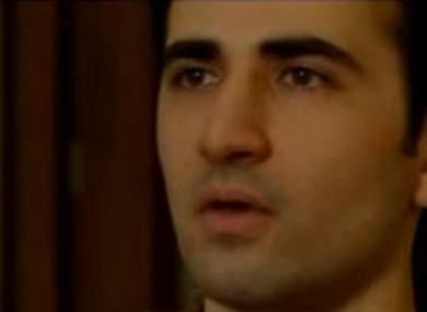 Still image of Amir Mirzai Hekmati taken before his conviction and sentencing.