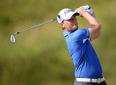 Branden Grace, seen here in action during the 2009 Open Championship.
