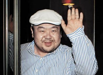 Kim Jong-nam pictured in Macau in 2010