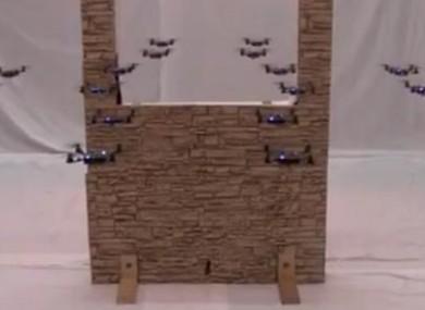 drone camera avec lunette