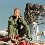 Richard Branson of Virgin Group likes to travel in the most extreme ways - the kind that breaks world records. He has made various attempts at different records, including circling the globe non-stop in a hot-air balloon (he failed). Some of his successful attempts include crossing the English Channel in an amphibious vehicle (1 hour 40 minutes) and becoming the first person to cross the same channel in a hot air balloon a year later. (Pic: Tim Ockenden/PA Wire)