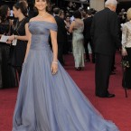 Penelope Cruz in piles of organza by Armani. 