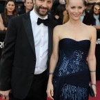 Leslie Mann with husband Judd Apatow.