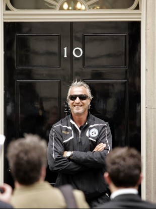 David Ginola (file photo).