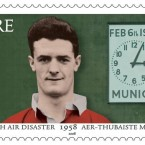An Post marked the disaster's 50th anniversary with this stamp depicting Billy Whelan.