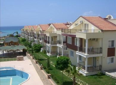 The Golden Beach villas in Turkey which O'Kane did not