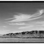 Looking south from Manzanar to the Alabama Hills, showing the arid area surrounding the centre. (Library of Congress, Prints & Photographs Division)
