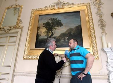 RTE Radio's Michael Corcoran interviews Rory Best.