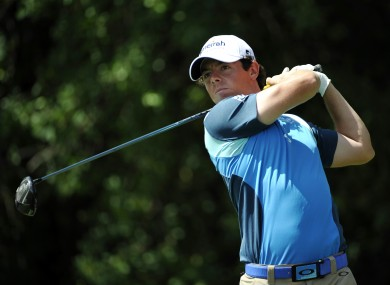 McIlroy will claim the world number one spot if he secures victory.