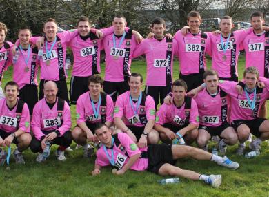 The team took part in the Enniscorthy 10k run last month.