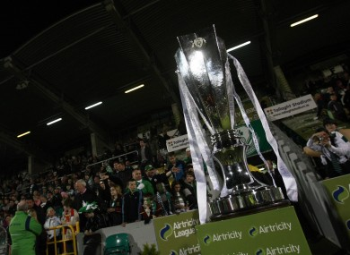 The Premier Division trophy: will it be heading back to Tallaght for a third successive season?