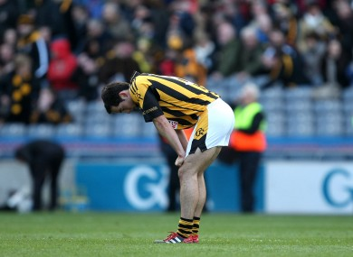 Crossmaglen's Aaron Kernan after the game.