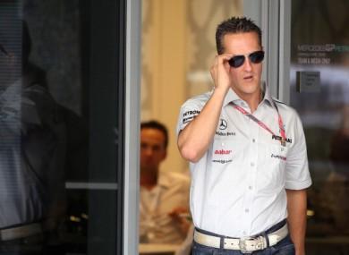 Michael Schumacher: optimistic.
