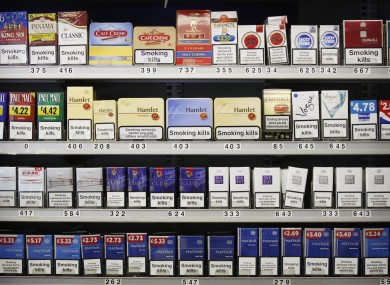 Cigarette Packets Could Be Stripped Of All Branding In The Uk