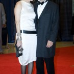 Director Steven Spielberg, right, and wife, Kate Capshaw. (AP Photo/Kevin Wolf)