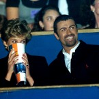Okay, we're cheating a little with this one as it was taken in 1994 but Princess Diana and George Michael together? Come on. Image: Duncan Raban/Duncan Raban/EMPICS Entertainment