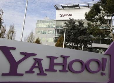Yahoo headquarters in Sunnyvale, California