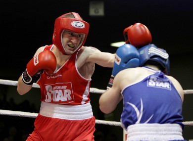 Paddy Barnes in action.