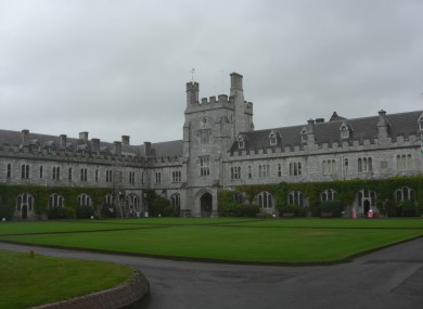 UCC, where a number of the highest-paid academics are working