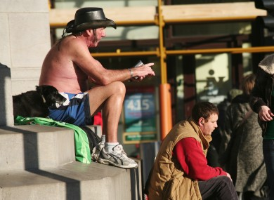 Archive pic - O'Connell Street, Dublin, 2007.
