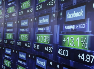 Facebook shares began trading at $38 - and rose as high as $45 before beginning a collapse that left them at $31 within three days.