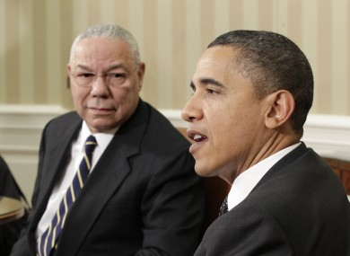 Colin Powell crossed party lines to endorse Barack Obama in 2008 - but declined to do so again in an interview today.