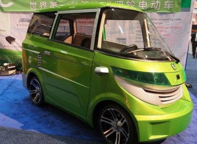 Ample's new electronic car