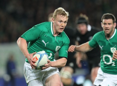 Keith Earls returns to the left wing on Saturday.