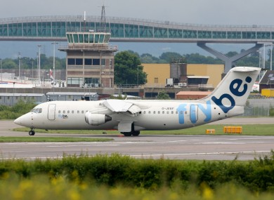 A FlyBe plane (File photo)