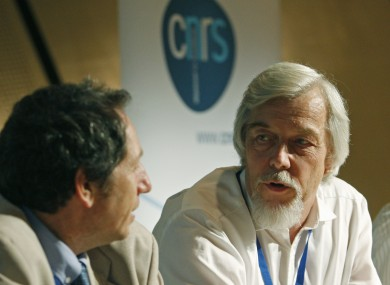 Professor Rolf Heuer, right, director general of CERN, will be in Dublin for a lecture on Friday 13 July.