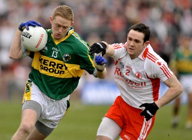 Kerry attacker Colm Cooper will have Tyrone defenders for company again next Saturday.