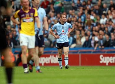 Impact: Ciaran Kilkenny got a short run-out in the Leinster semi-final against Wexford.