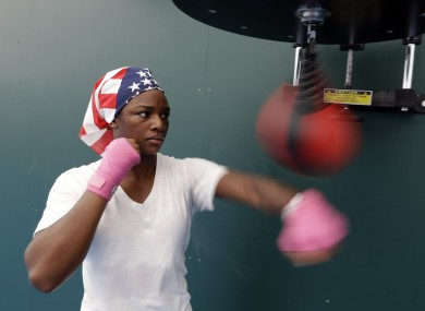 Claressa Shields is another burgeoning star in women's boxing.